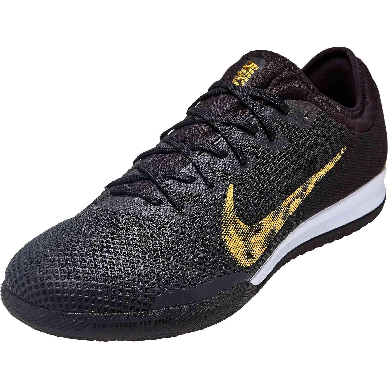 fb4b8725d Nike Mercurial Vapor 12 Pro IC - Black Lux - SoccerPro