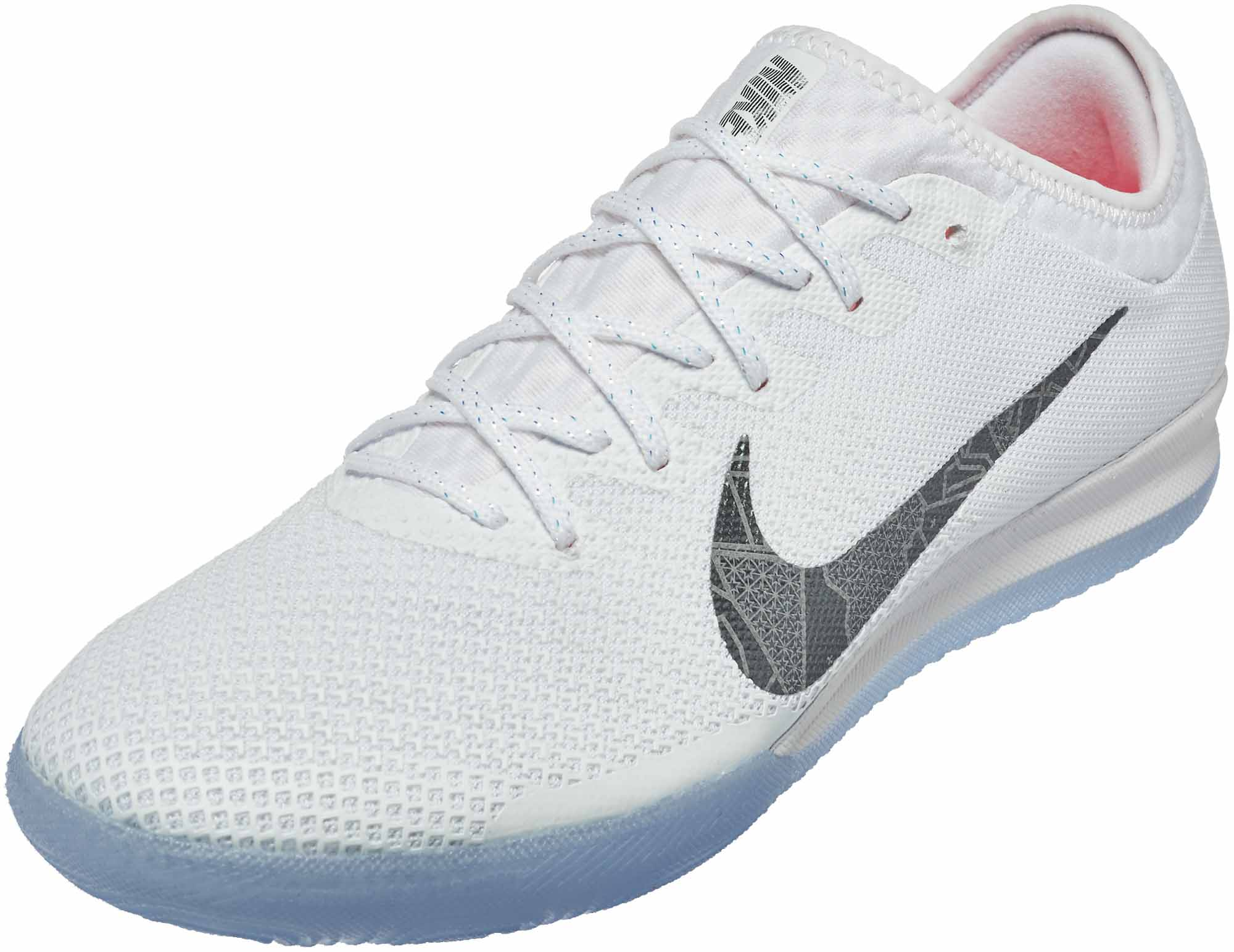 online store b65b9 bbab0 Nike VaporX 12 Pro IC – White/Metallic Cool Grey/Total Orange