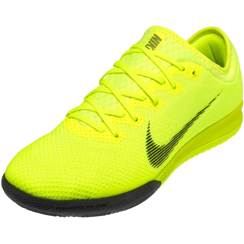 promo code 6ec18 9f021 Nike Mercurial VaporX 12 Pro IC – Volt/Black