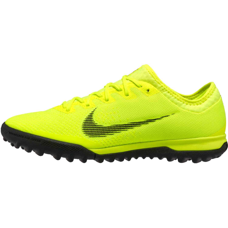 61b1600de Nike Mercurial VaporX 12 Pro TF - Volt/Black - SoccerPro
