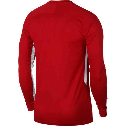 Kids Nike US Tiempo Premier L/S Jersey – Universtiy Red