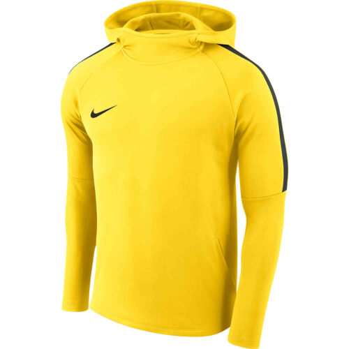 Nike Academy18 Pullover Hoodie – Tour Yellow