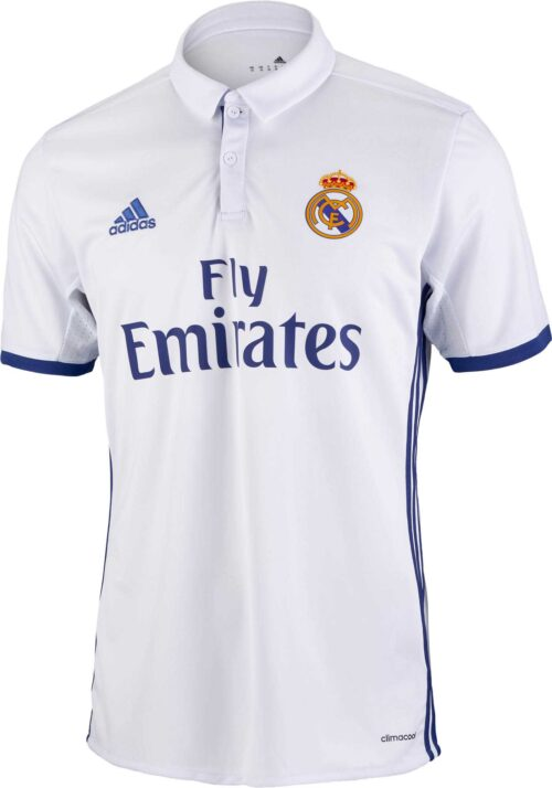 adidas Kids Real Madrid Home Jersey 2016-17 NS