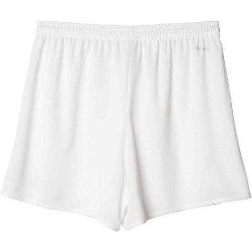 Womens adidas Parma 16 Shorts – White