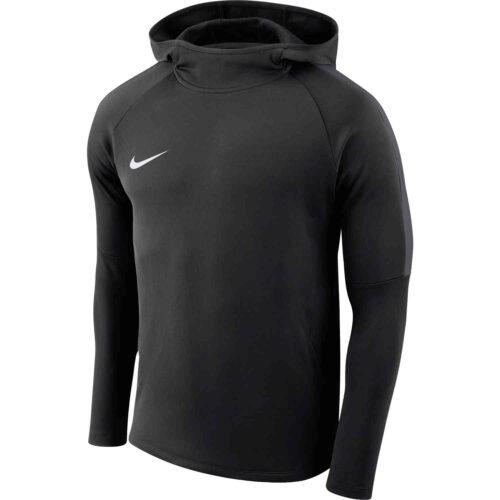 Kids Nike Academy18 Pullover Hoodie – Black