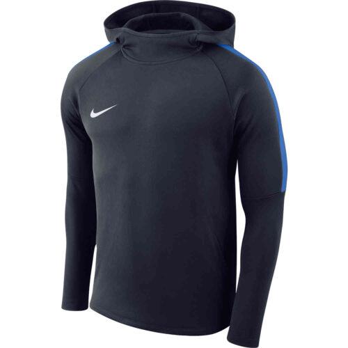 Kids Nike Academy18 Pullover Hoodie – Obsidian