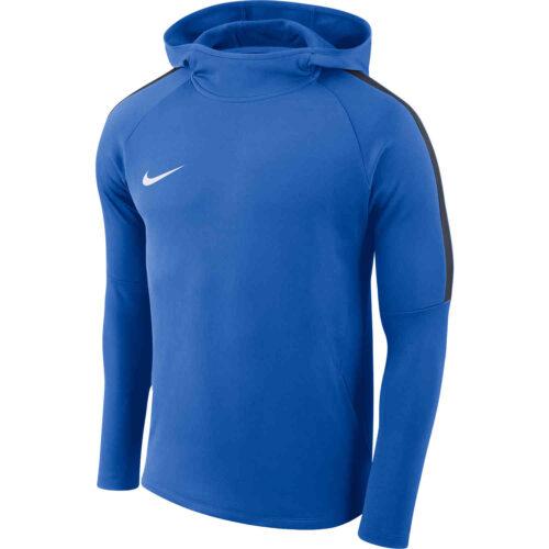 Kids Nike Academy18 Pullover Hoodie – Royal Blue