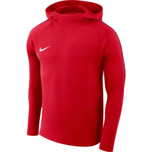 Kids Nike Academy18 Pullover Hoodie – University Red