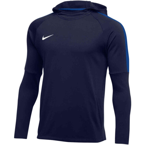 Womens Nike Academy18 Pullover Hoodie – Obsidian