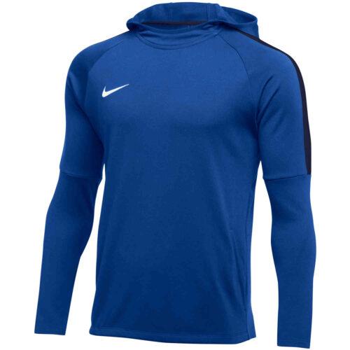 Womens Nike Academy18 Pullover Hoodie – Royal Blue