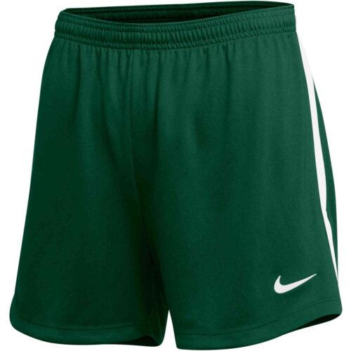 Womens Nike Dry Classic Shorts – Gorge Green