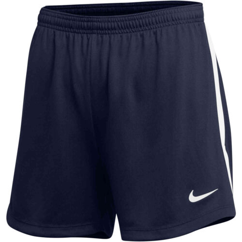 Womens Nike Dry Classic Shorts – College Navy