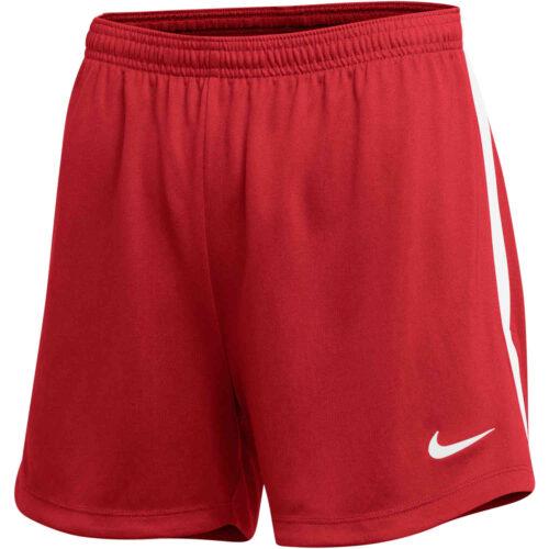 Womens Nike Dry Classic Shorts – University Red