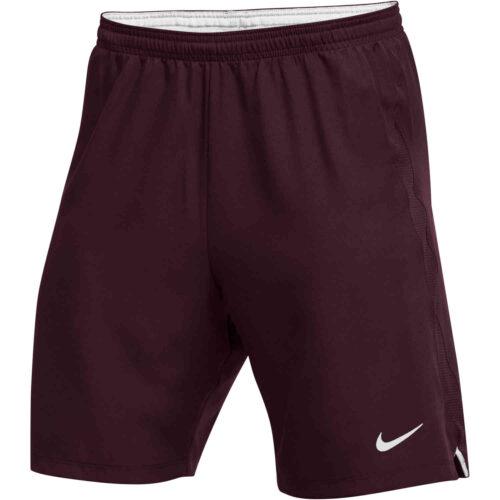 Nike Woven Laser IV Shorts – Dark Maroon