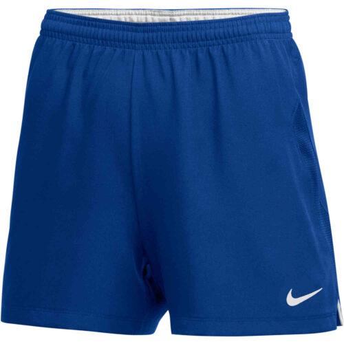 Womens Nike Woven Laser IV Shorts – Game Royal