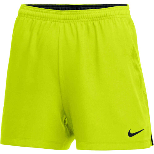 Womens Nike Woven Laser IV Shorts – Volt