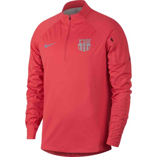 Nike Barcelona Shield Squad Drill Top – Tropical Pink