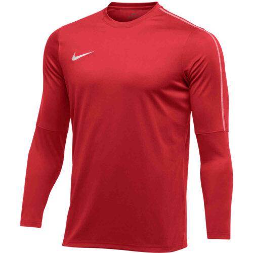 Womens Nike Park18 Crew – University Red