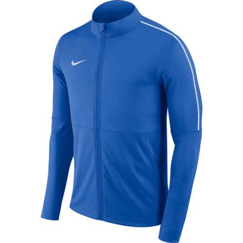 Womens Nike Park18 Track Jacket – Royal Blue