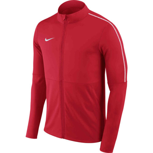 Womens Nike Park18 Track Jacket – University Red