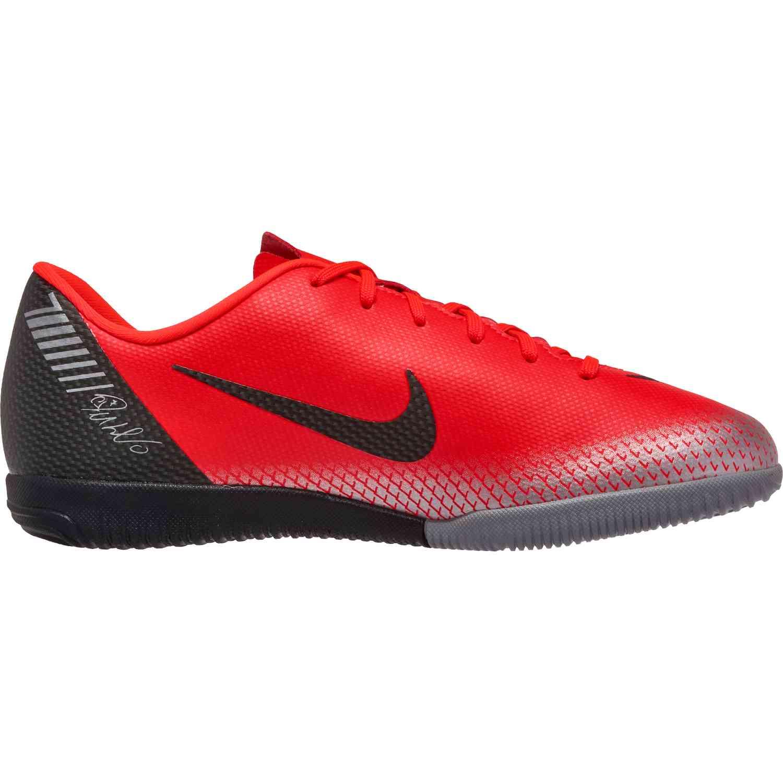8cad9d8cb69 Kids Nike CR7 Mercurial VaporX 12 Academy IC - Chapter 7 - SoccerPro