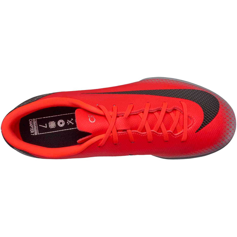 911ae168c1b Kids Nike CR7 Mercurial VaporX 12 Academy IC - Chapter 7 - SoccerPro
