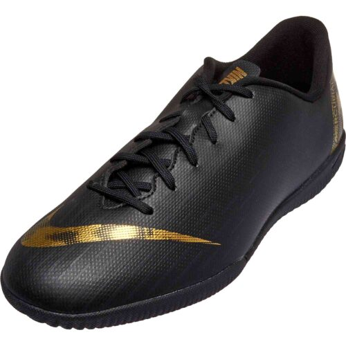 Kids Nike Mercurial Vapor 12 Academy IC – Black Lux