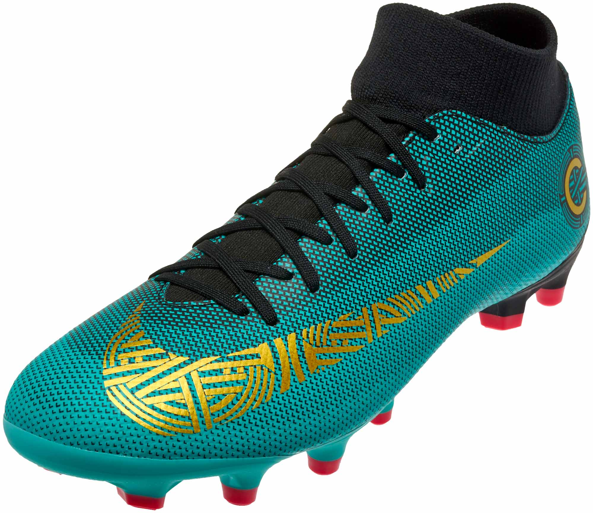 458ec648a Nike Mercurial Superfly 6 Academy MG – CR7 – Clear Jade/Metallic Vivid Gold