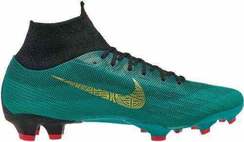 Nike Mercurial Superfly 6 Pro FG – CR7 – Clear Jade/Metallic Vivid Gold