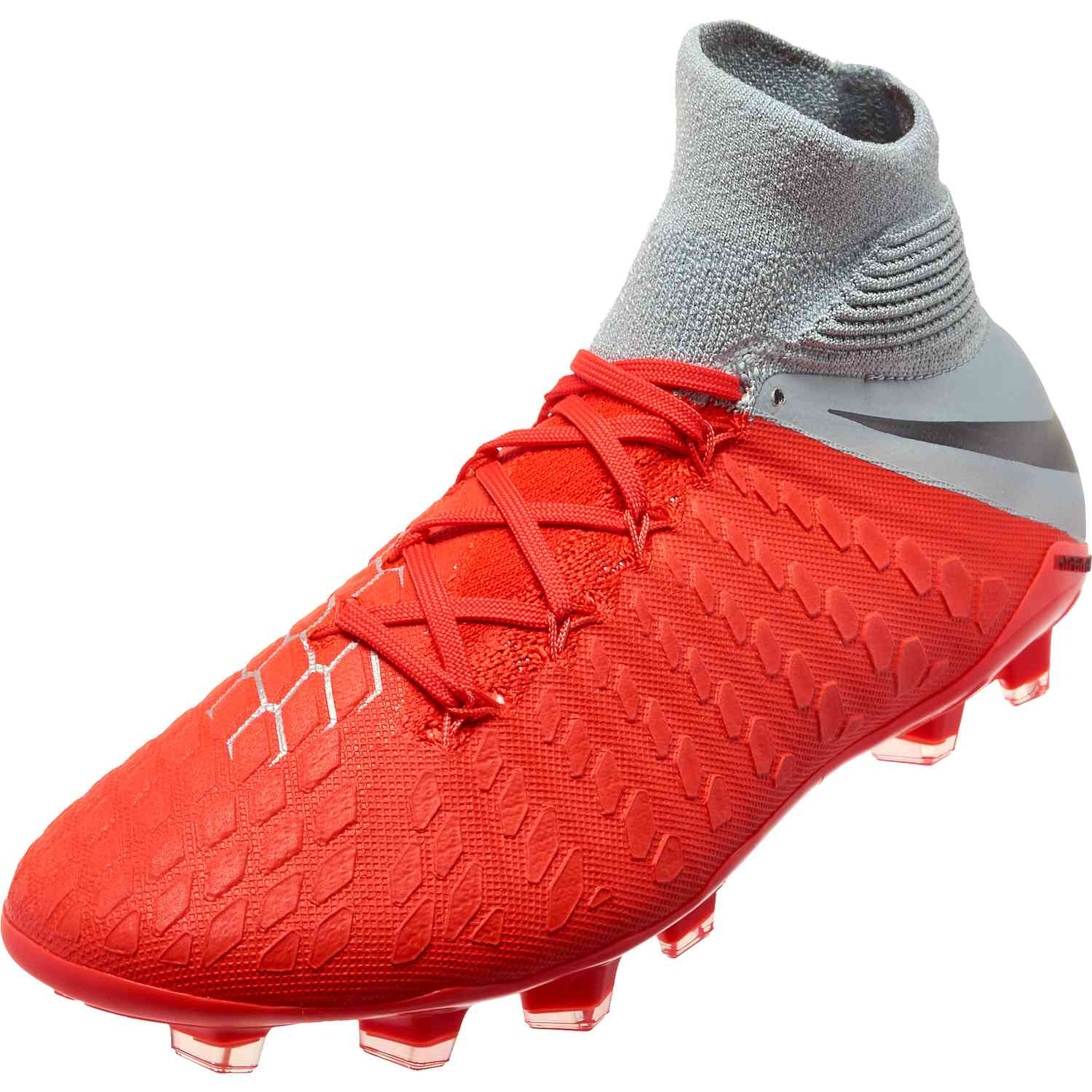 dbf0ac48ebc4 Nike Hypervenom Phantom 3 Elite DF FG – Youth – Light Crimson Metallic Dark  Grey