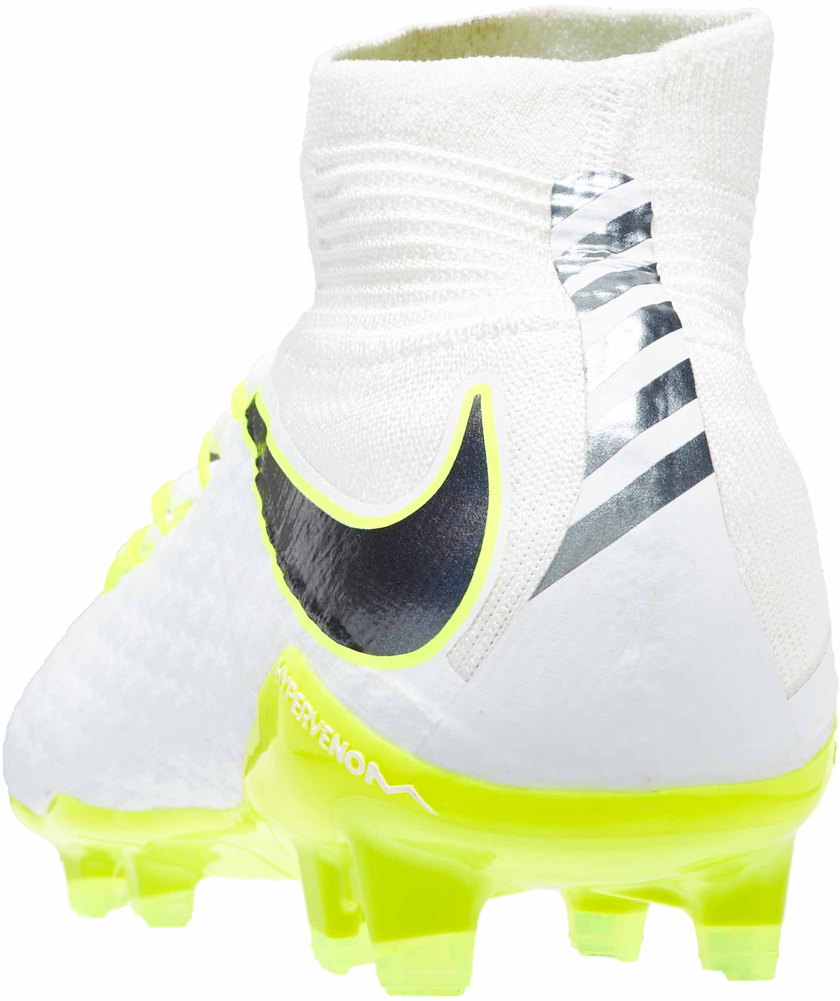5a734704ae2 Nike Hypervenom Phantom III Pro DF FG - White Metallic Cool Grey ...