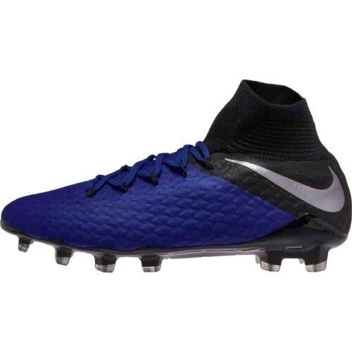 Nike Phantom 3 Pro DF FG – Racer Blue/Metallic Silver/Black/Volt