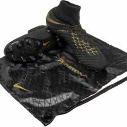 factory price 33607 32514 Nike Hypervenom Phantom III Elite DF FG – Black Metallic Vivid Gold