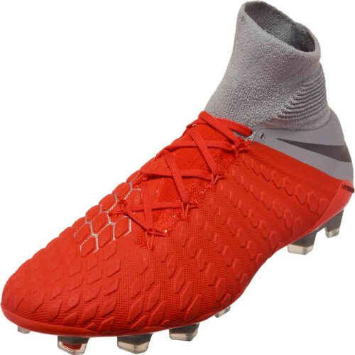 Nike Hypervenom Phantom 3 Elite DF FG – Light Crimson/Metallic Dark Grey/Wolf Grey