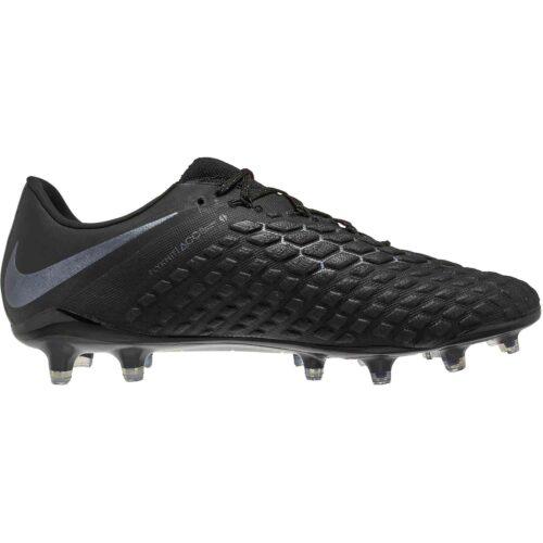 Nike Hypervenom Phantom 3 Elite FG – Black/Black