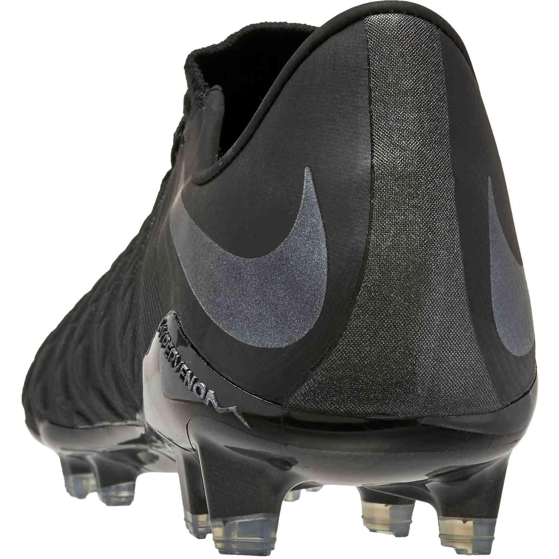 online store dc41d d5cc3 Nike Hypervenom Phantom 3 Elite FG - Black/Black - SoccerPro