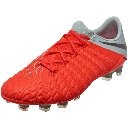 Nike Hypervenom Phantom 3 Elite FG – Light Crimson/Metallic Dark Grey/Wolf Grey