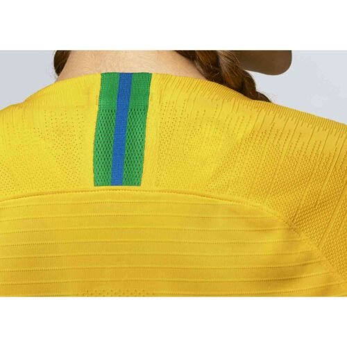 2019 Womens Nike Brazil Home Match Jersey