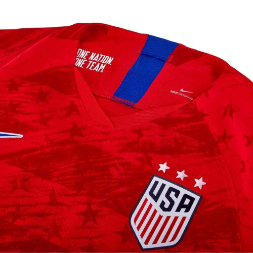 2019 Womens Nike USWNT Away Match Jersey