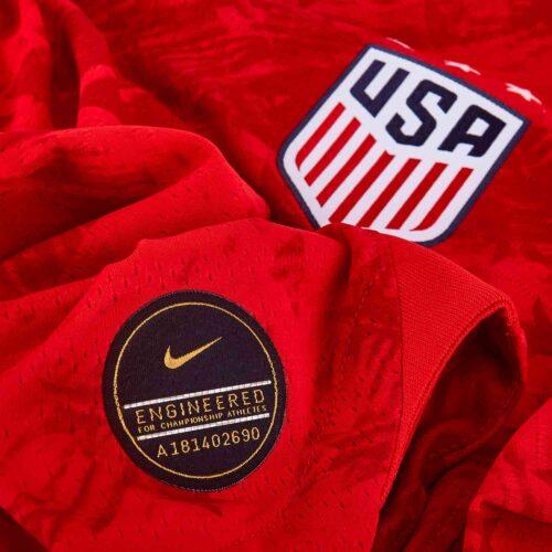 2019 Womens Nike Morgan Brian USWNT Away Match Jersey