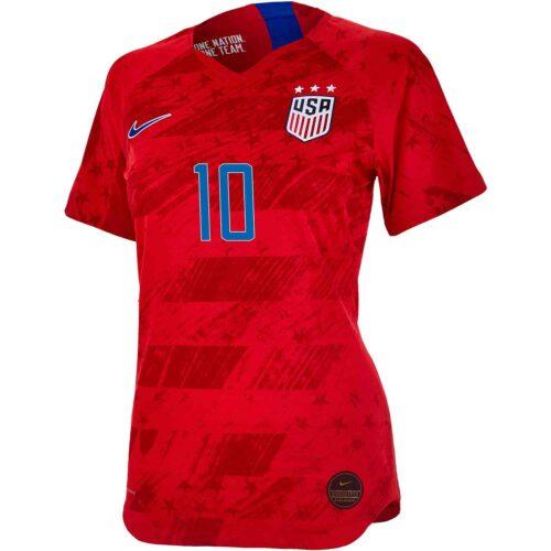 2019 Womens Nike Carli Lloyd USWNT Away Match Jersey