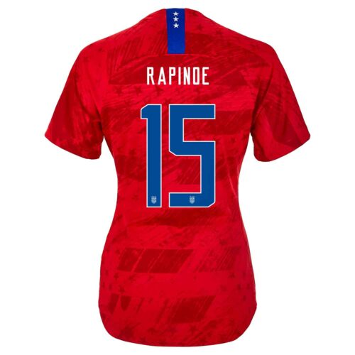 982b5126588 2019 Womens Nike Megan Rapinoe USWNT Away Match Jersey