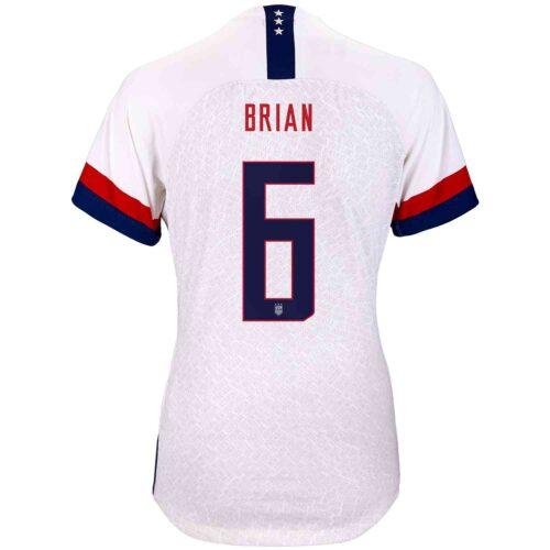 2019 Womens Nike Morgan Brian USWNT Home Match Jersey