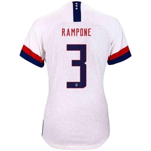 2019 Womens Nike Christie Rampone USWNT Home Match Jersey