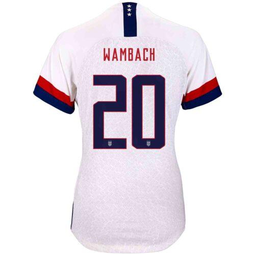 2019 Womens Nike Abby Wambach USWNT Home Match Jersey