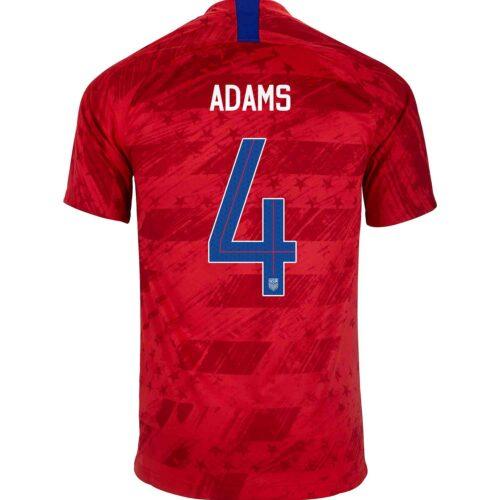 2019 Nike Tyler Adams USMNT Away Jersey