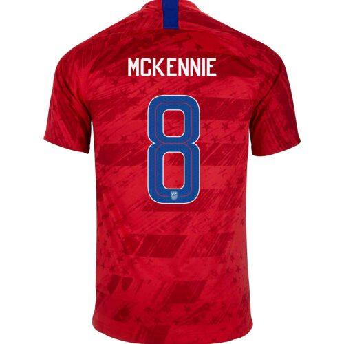 2019 Nike Weston McKennie USMNT Away Jersey