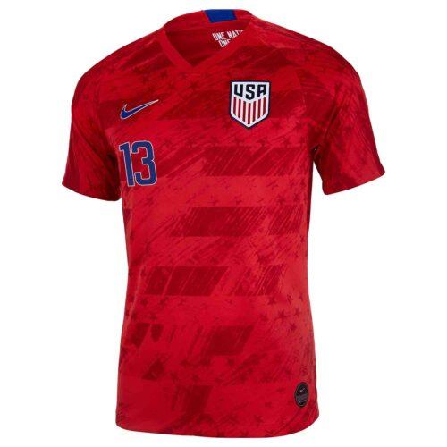 2019 Nike Josh Sargent USMNT Away Jersey