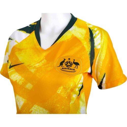 2019 Womens Nike Australia Home Jersey
