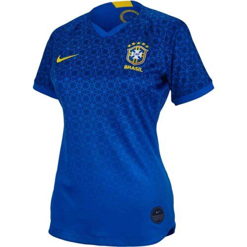 2019 Womens Nike Brazil Away Jersey